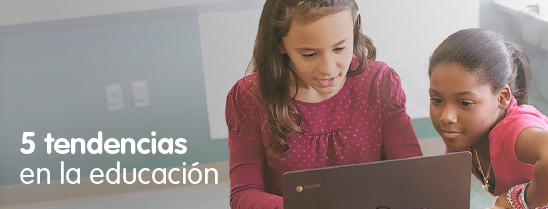 5 Tendencias en Educación