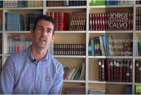 """""""La tecnología nos permite centralizar toda la información necesaria"""" Jorge Calvo, Colegio Europeo de Madrid"""