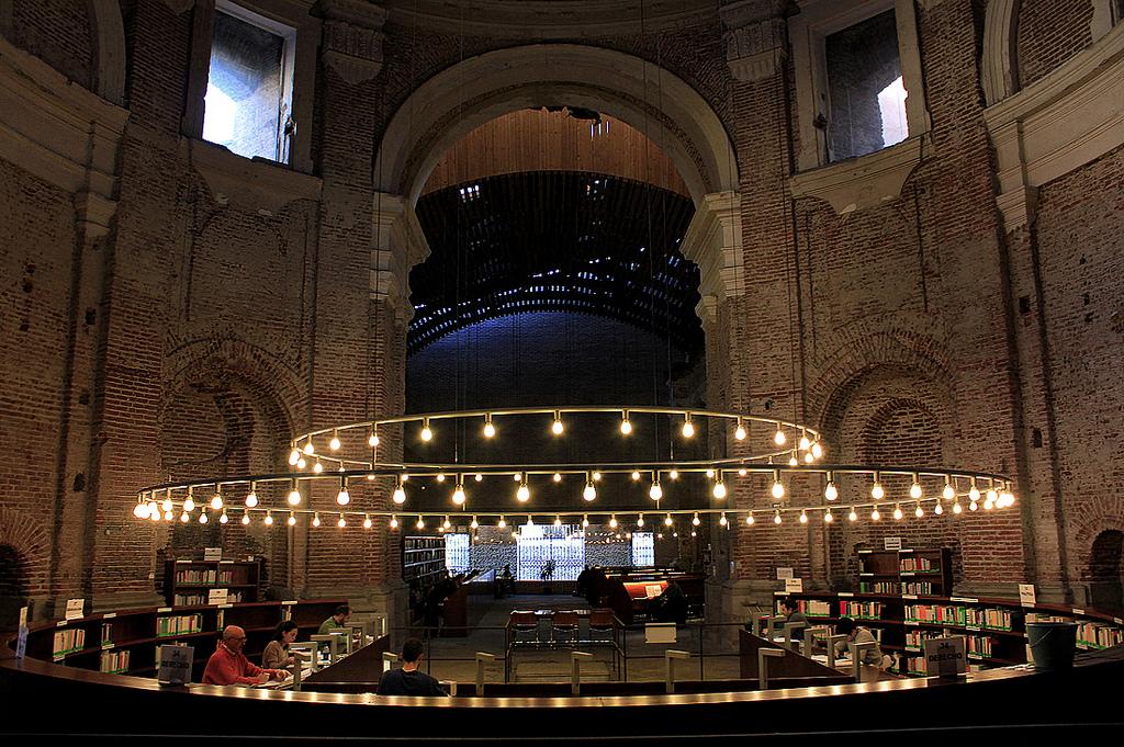 Las 10 mejores bibliotecas para visitar en espa a for Biblioteca uned madrid