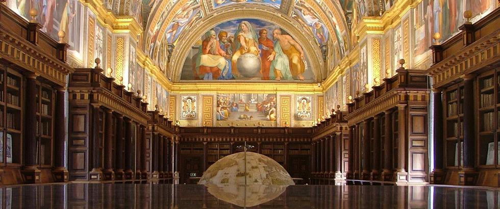 Biblioteca del Monasterio de San Lorenzo de El Escorial