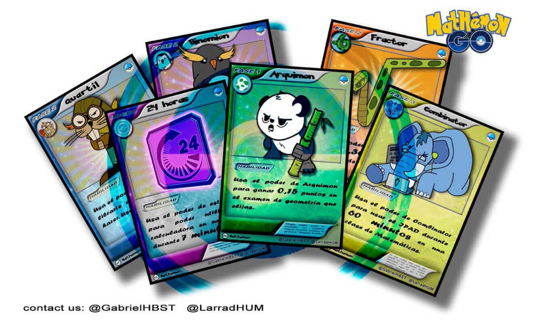 Pokémon GO + realidad aumentada + gamificación para aprender matemáticas