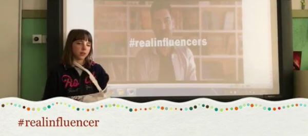 El movimiento #realinfluencers inspira a una alumna de Almería