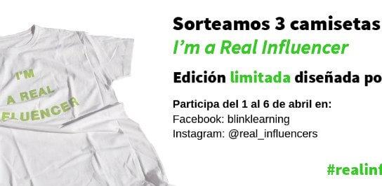 SORTEO especial Día de la Educación: consigue una camiseta 'I'm a Real Influencer' (CERRADO)