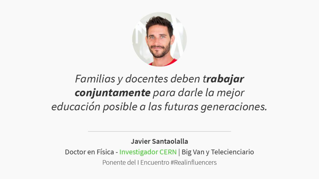 Javier Santaolalla encuentro #Realinfluencers