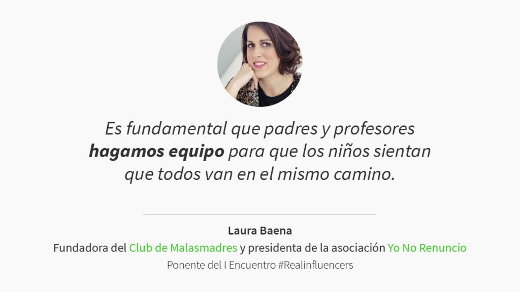 Laura Baena encuentro #Realinfluencers
