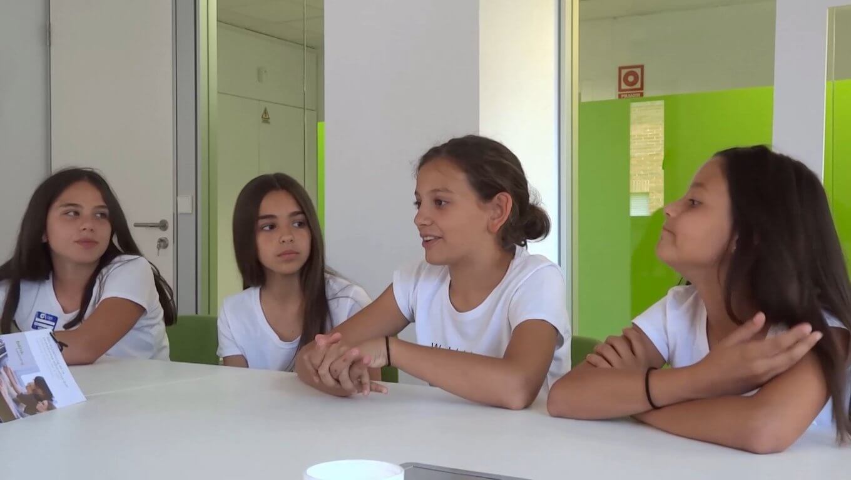 4 jóvenes españolas, vencedoras de Technovation Challenge