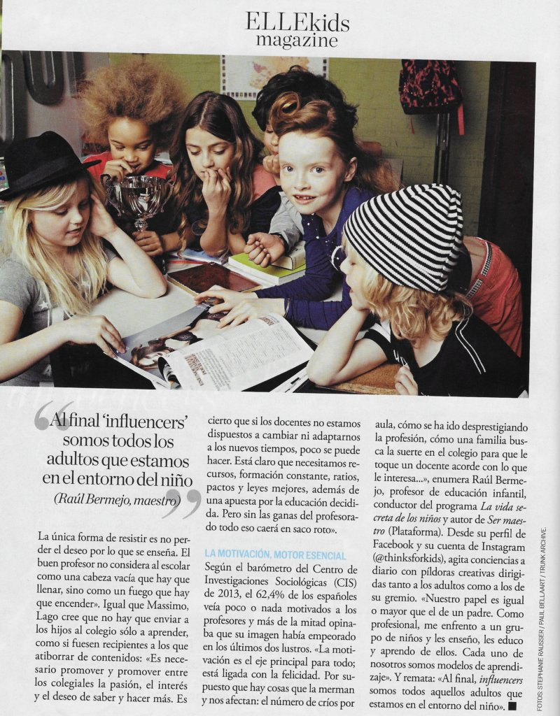 #Realinfluencers en Elle Kids