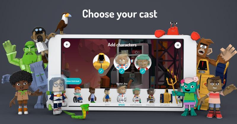 Toontastic una de las mejores apps de animación educativa