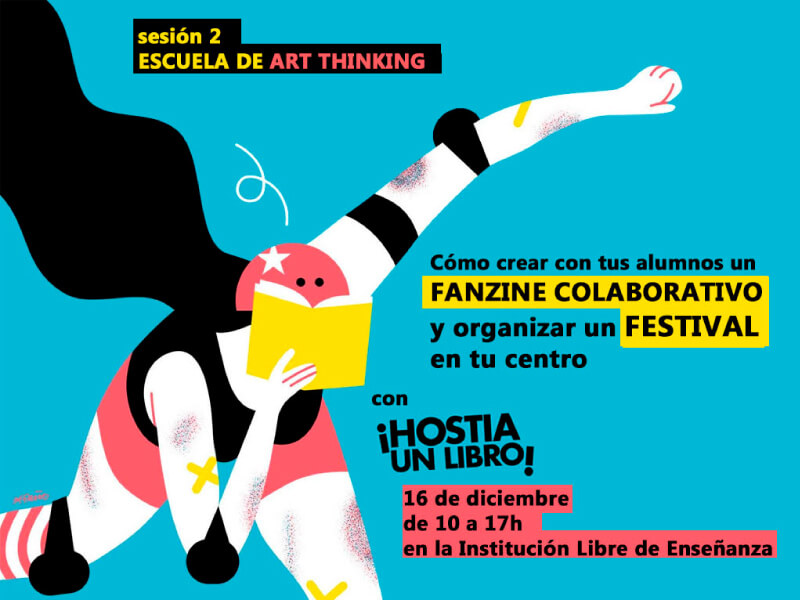 Fanzine colaborativo en Escuela Art Thinking