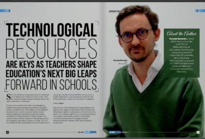 Artículo de Gonzalo Baranda, CEO de BlinkLearning, en Insight Success: Los recursos tecnológicos, elemento clave para ayudar a los maestros que buscan la innovación educativa en sus colegios