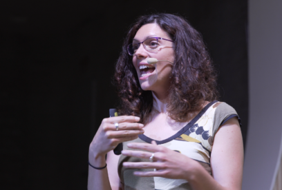 """""""Al final lo importante es lainformación que quieres transmitir y que esa comunicación seaeficaz"""" – Liliana Arroyo"""