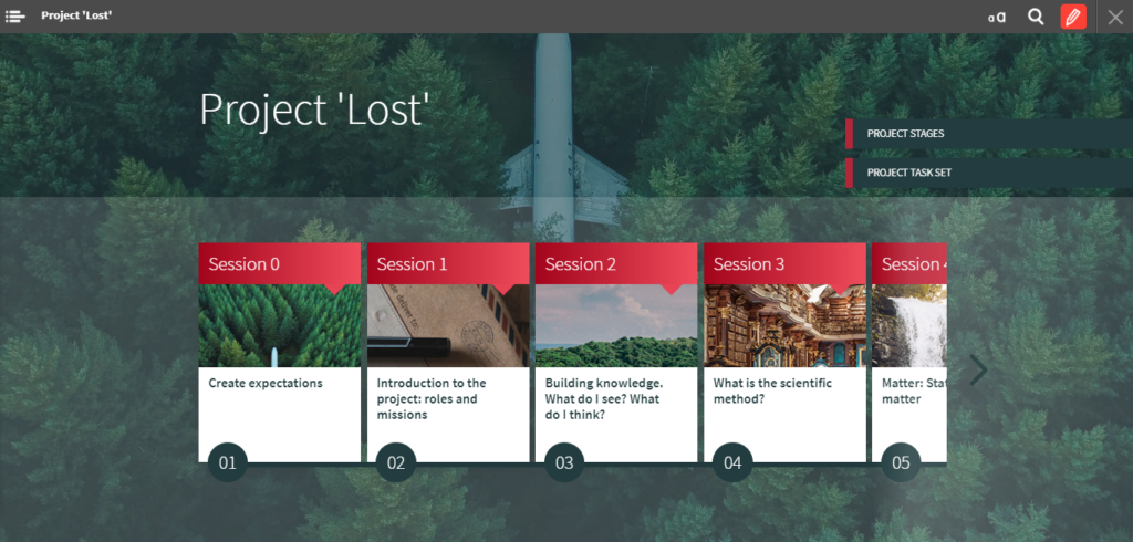 """""""Project Lost"""" book"""