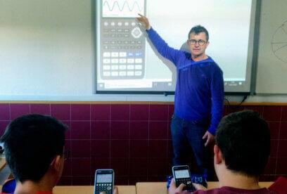 """Lluís Bonet: """"El uso de la tecnología hace que las matemáticas sean también más inclusivas"""""""