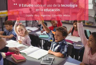 V Estudio sobre el uso de las TIC en la educación